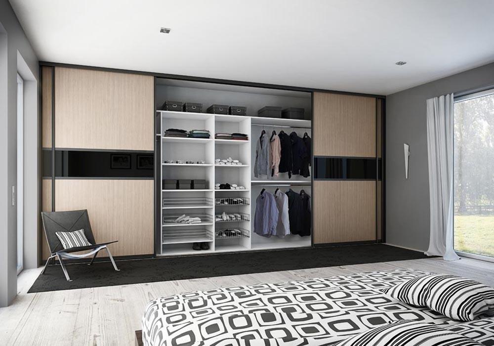 Шкаф-купе в спальню фото различных вариаций исполнения