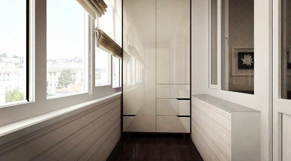Как сделать шкаф на балконе своими руками