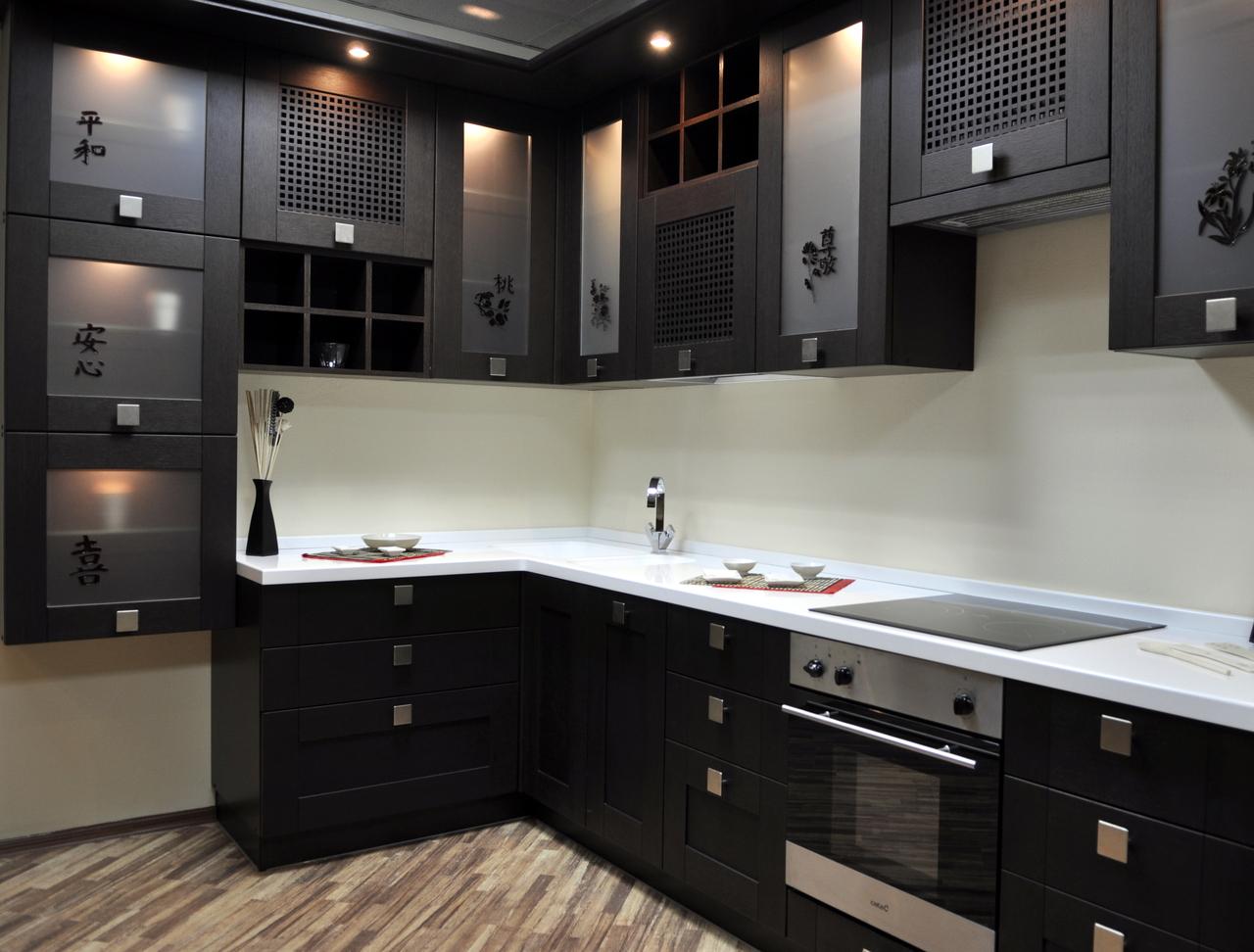 Шкаф для посуды – модные цветовые решения и современные материалы изготовления (84 фото)
