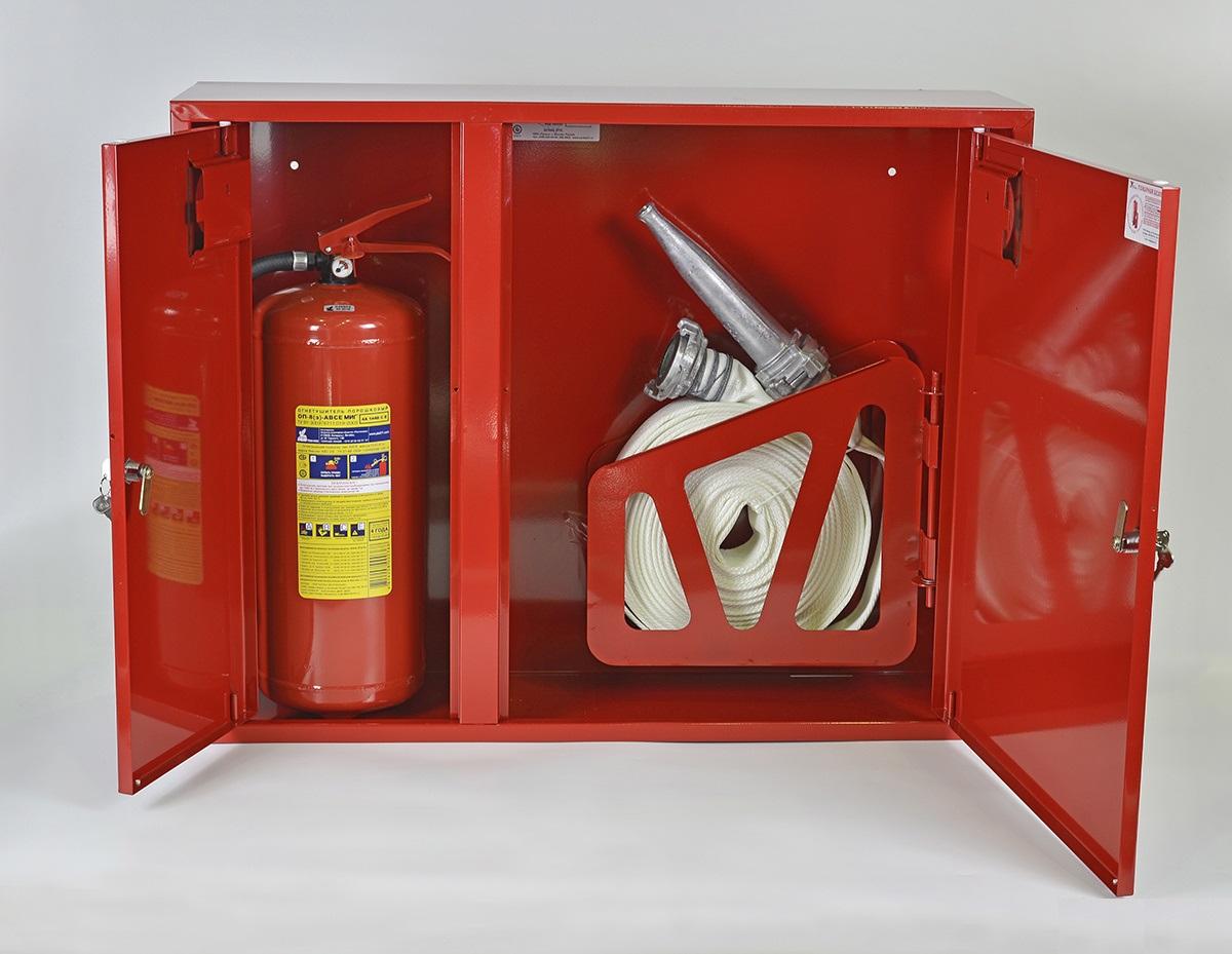 Что собой представляет пожарный шкаф, требования безопасности
