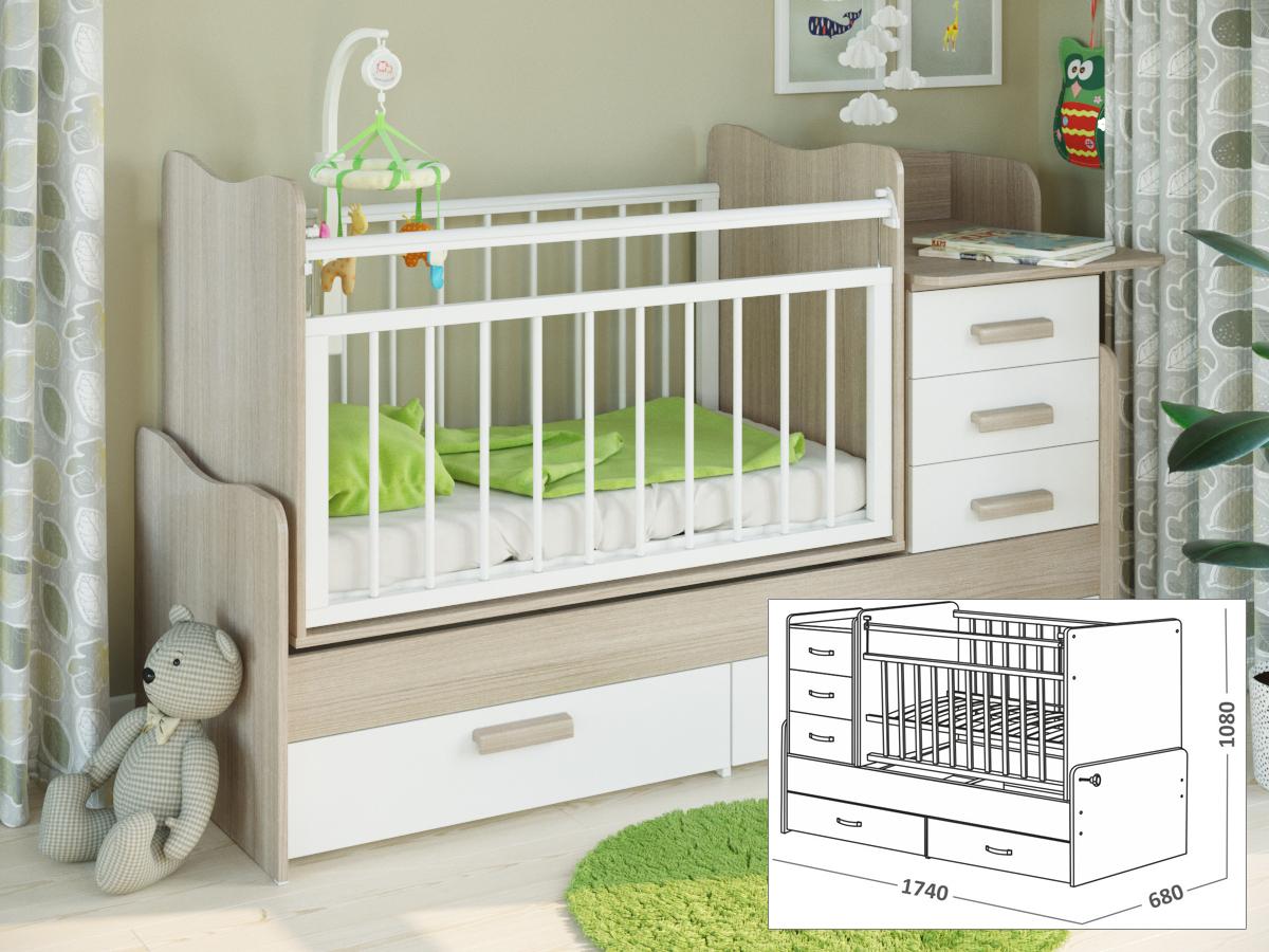 Ребенок 3 года размер кровати