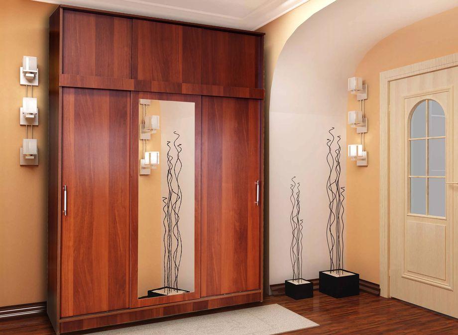 Размеры шкафа-купе (65 фото): стандартные и индивидуальные размеры шкафа для одежды, схемы направляющих