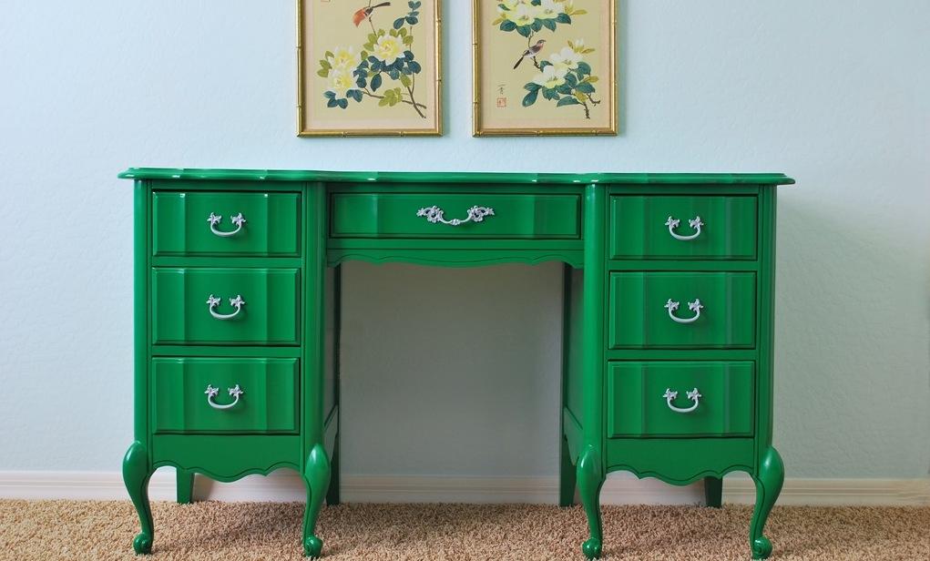 Как идеально покрасить мебель