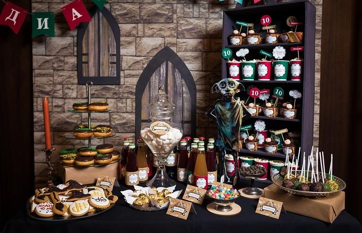 Как украсить стол на день рождения ребенка, украшение блюд и салатов