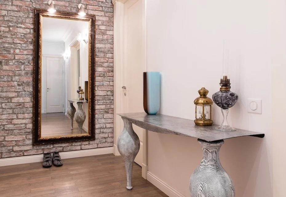 Какое зеркало для прихожей лучше – настенное без рамы, напольное, подвесное на потолке? Критерии выбора – Сделаем мебель сами