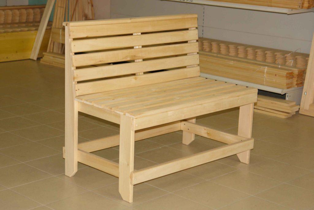 Деревянные скамейки для бани - Всё о бане