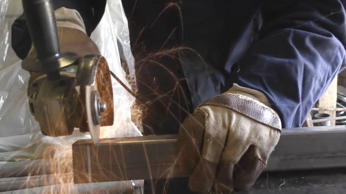 Складной верстак своими руками чертежи и размеры делаем универсальный раскладной стол из профильной трубы для дома